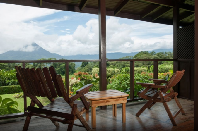 Arenal Lodge Volcano View