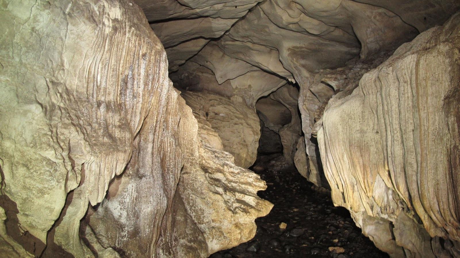 Vista desde el interior de Las Cavernas de Venado