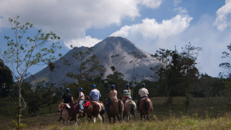 Arenal La Fortuna Waterfall Horseback Tour