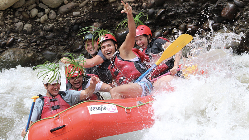 La Fortuna Rafting & Waterfall Rappelling Combo Tour