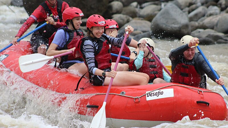 La Fortuna Balsa River Whitewater Rafting Tour