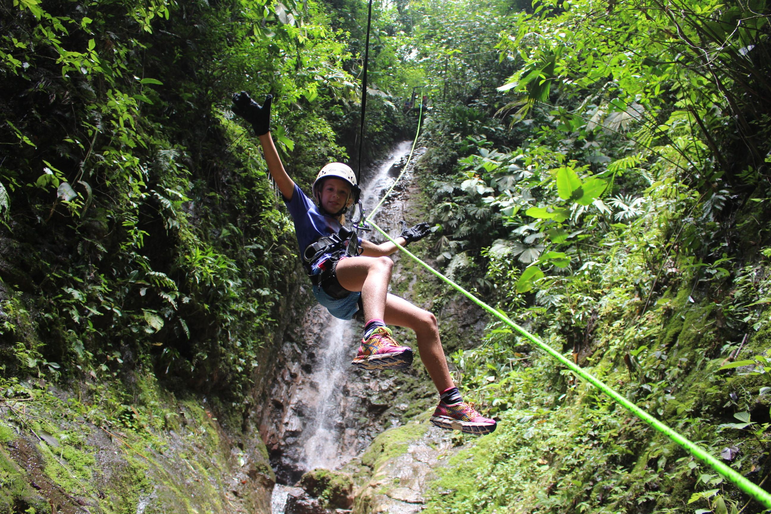 Canyoning at La Foruna