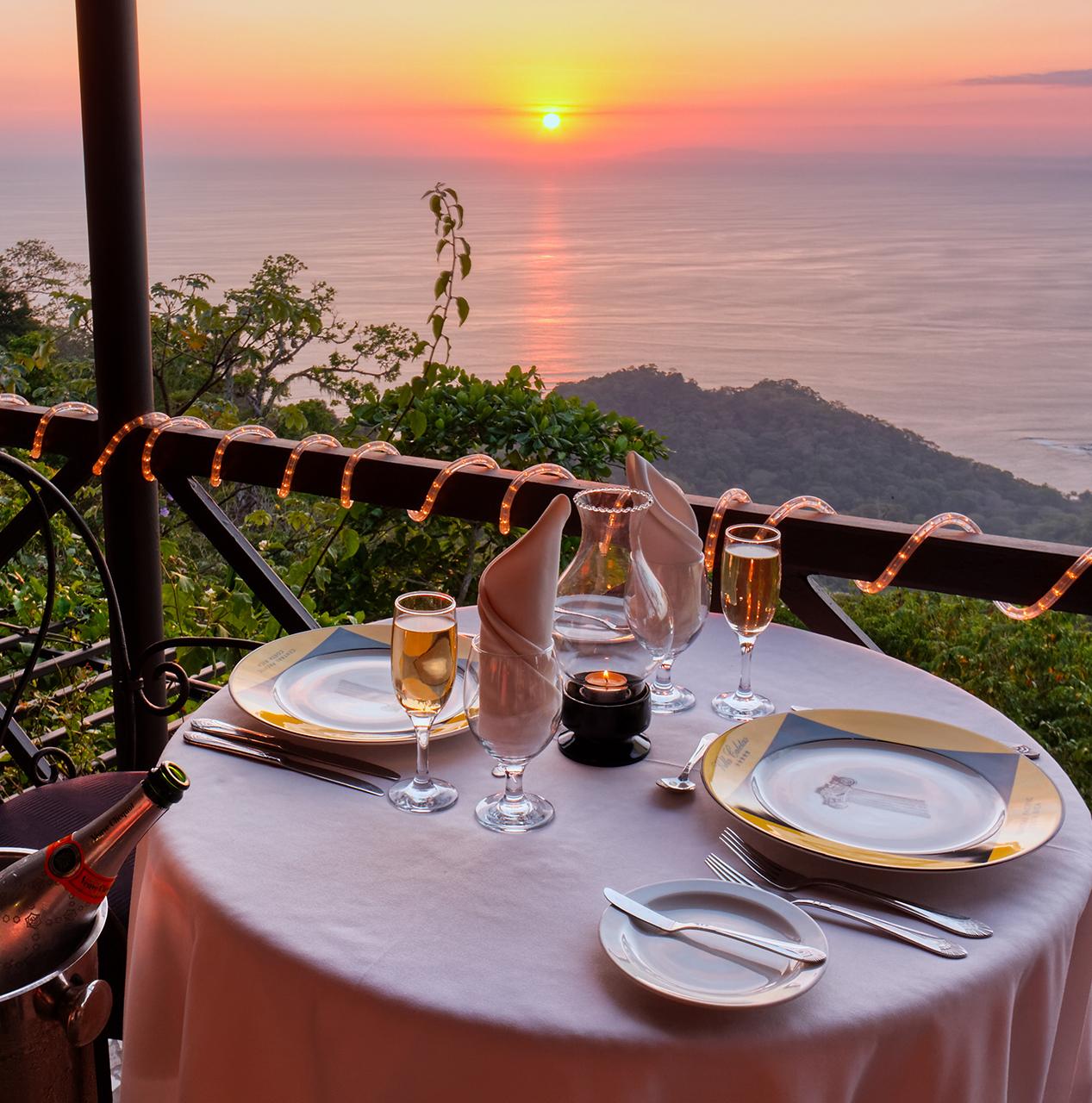 Fine Dinning Experience at Villa Caletas
