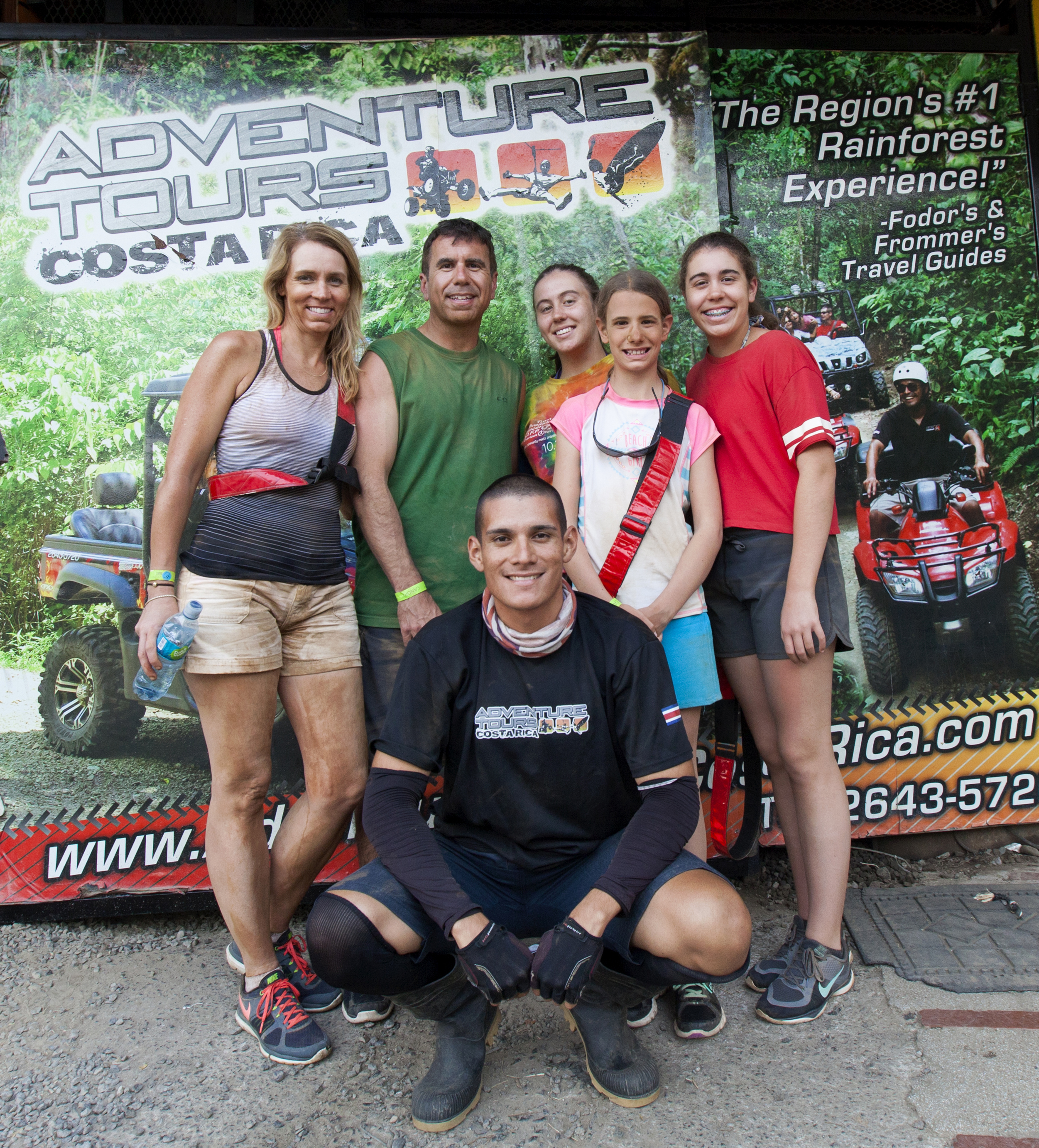 Family at Adventure Tours Costa Rica