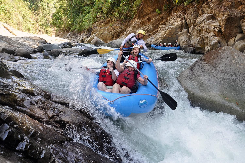 Best rapids at El Chorro