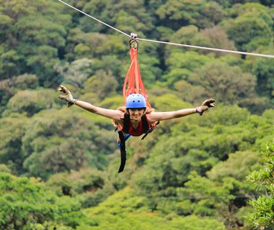 Monteverde superman zipline canopy