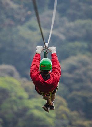 Monteverde zipline canopy skytrek