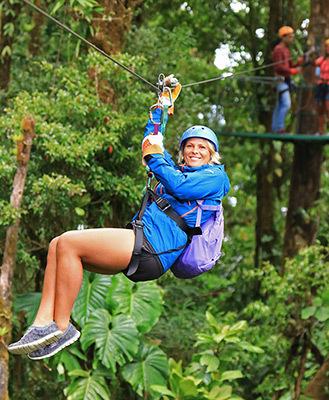 Selvatura zipline at Monteverde