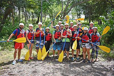 Monteverde whitewater rafting tour Tenorio