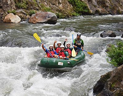 Best whitewater rafting tour Monteverde