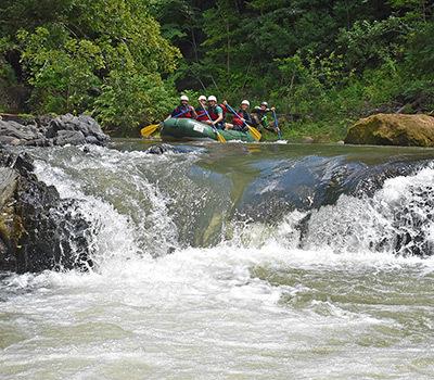 Monteverde rafting adventure