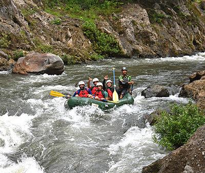 Monteverde rafting Tenorio