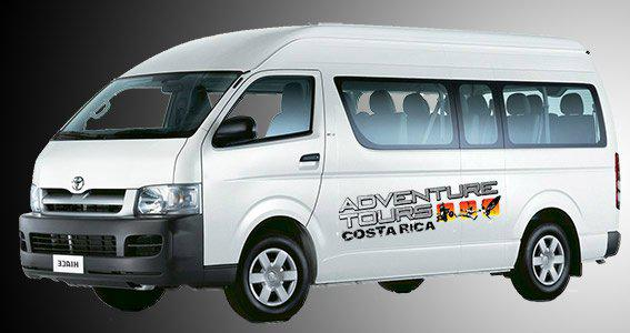airport transportation for Adventure Tours Costa Rica