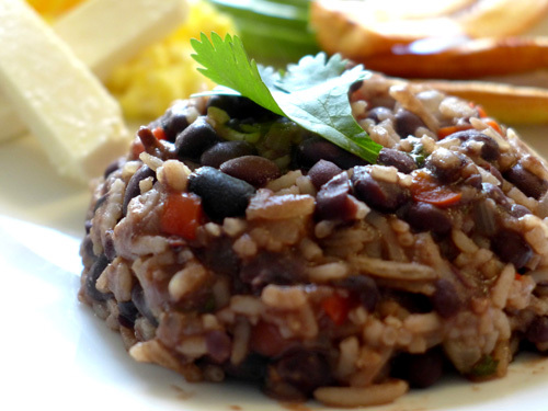 Gallo Pinto Costa Rican dish